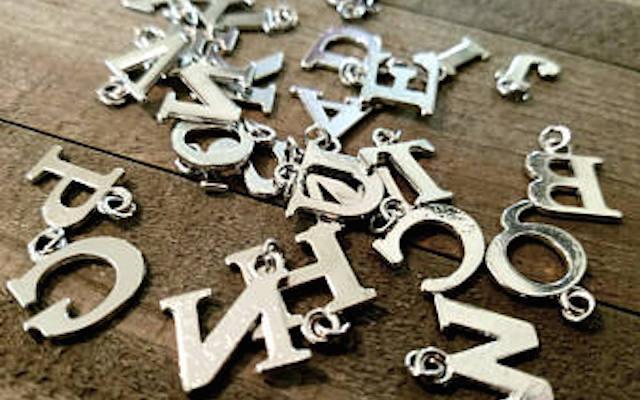 Подвески-Буквы