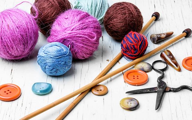 Инструменты для шитья и вязания
