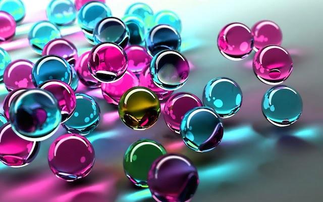 Скляні намистини