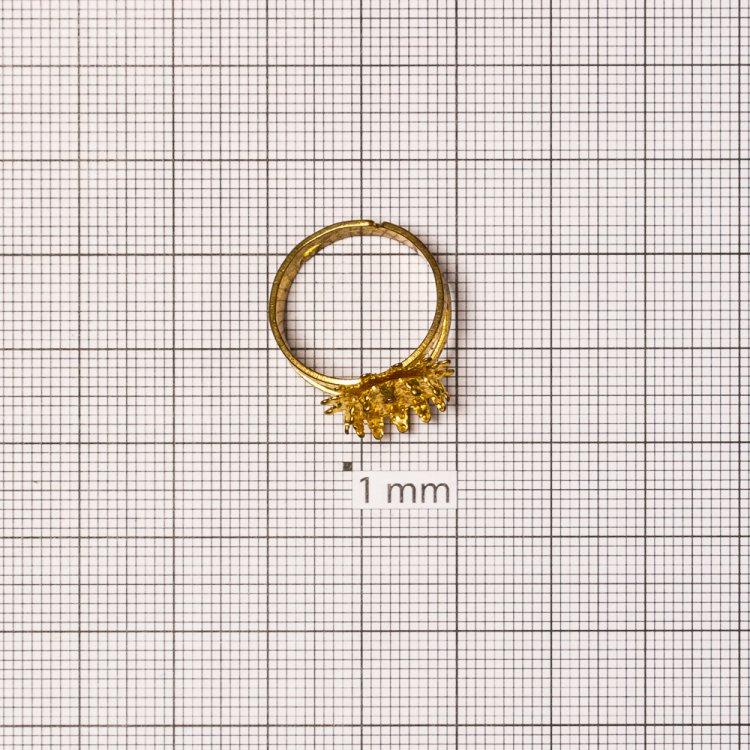 Основа для кольца. Золото. Диаметр 19 мм.