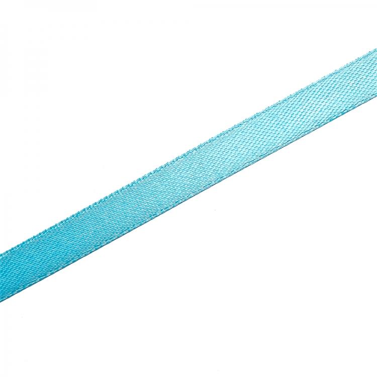 Стрічка атласна 10 мм синя