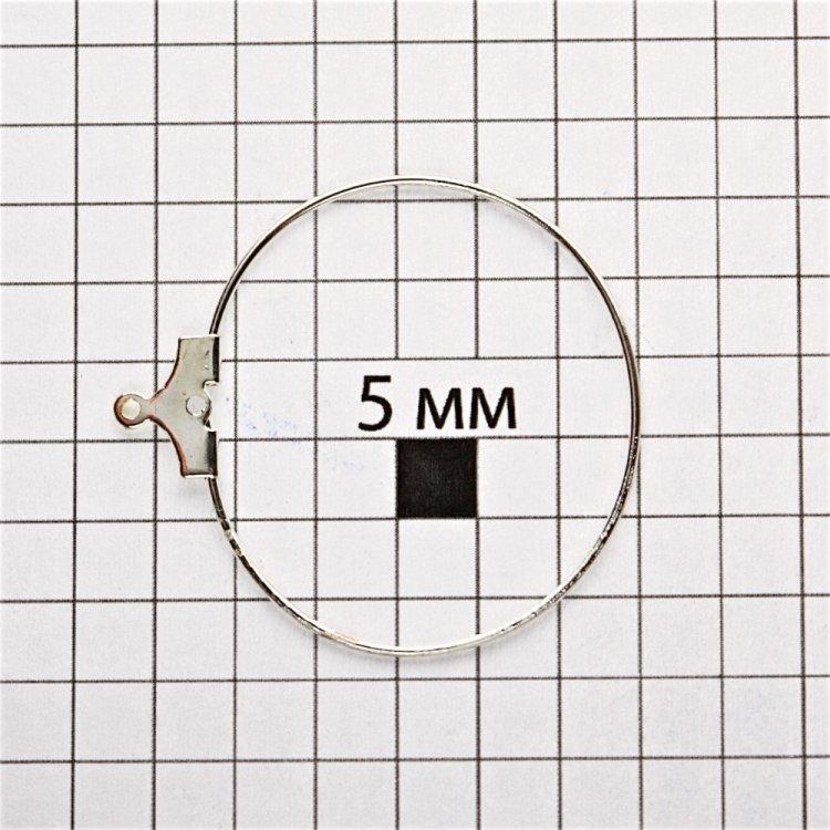 Основи для підвісок срібло 30 мм