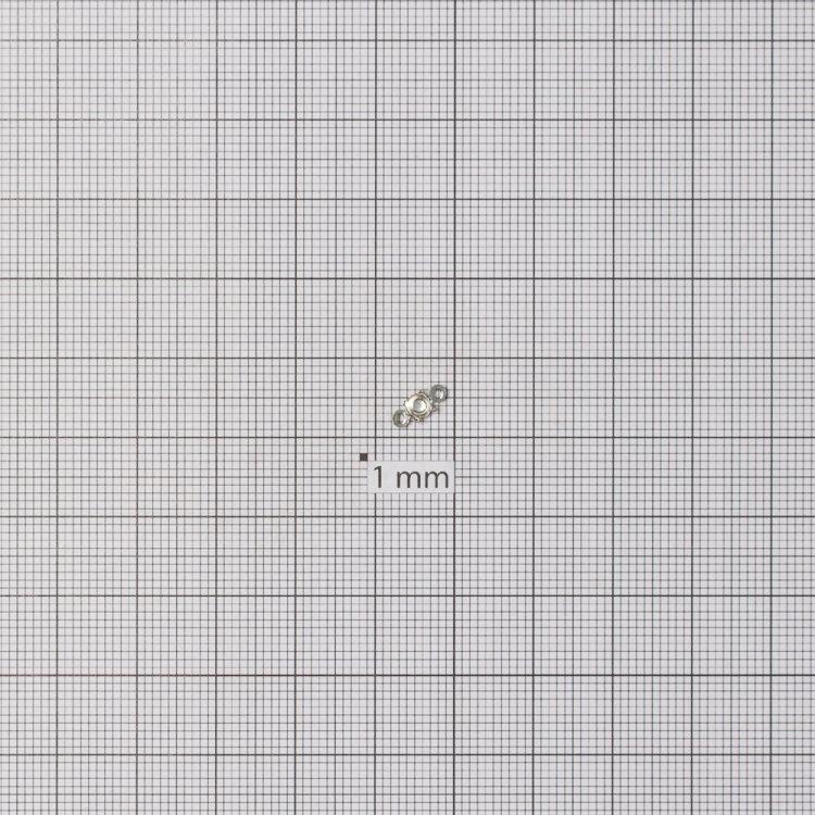 Основи для страз конічних. Мельхіоровий. Діаметр 3 мм.