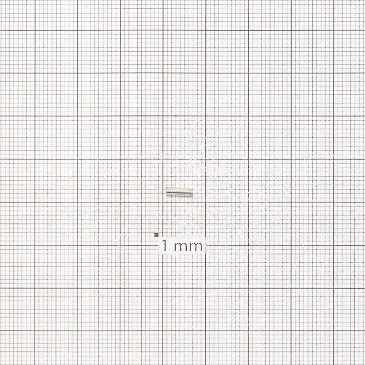 Бисер-стеклярус огонек прозрачный 6 мм