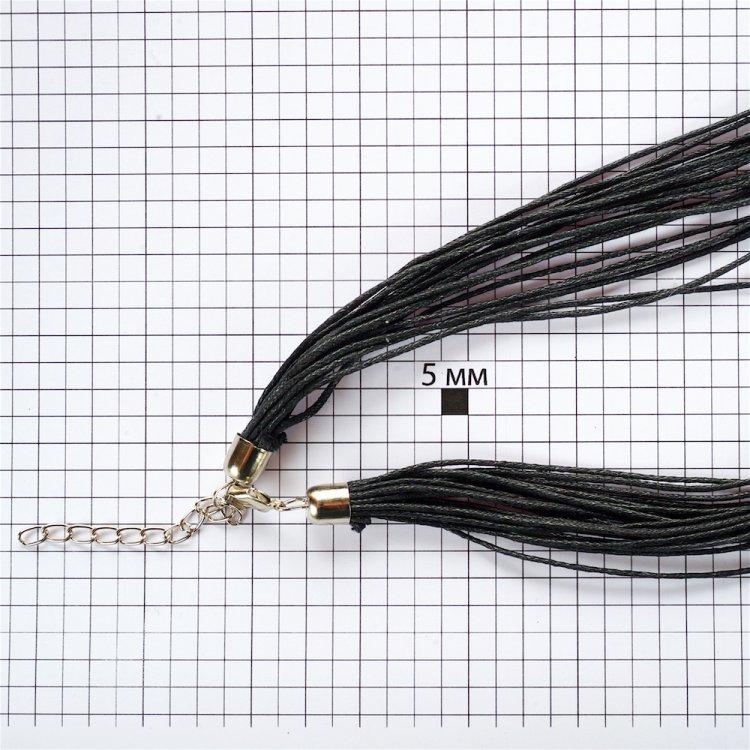 Основа для кулона – 20 ниток, бавовна, чорна