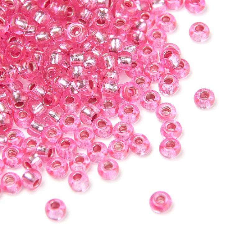 08277 чешский бисер Preciosa 5г  розовый