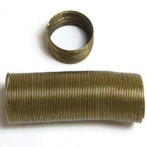 Жестяная основа для кольца широкая