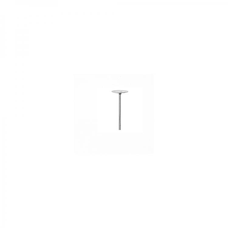 Основа для сережок гвоздик 5 мм срібляста