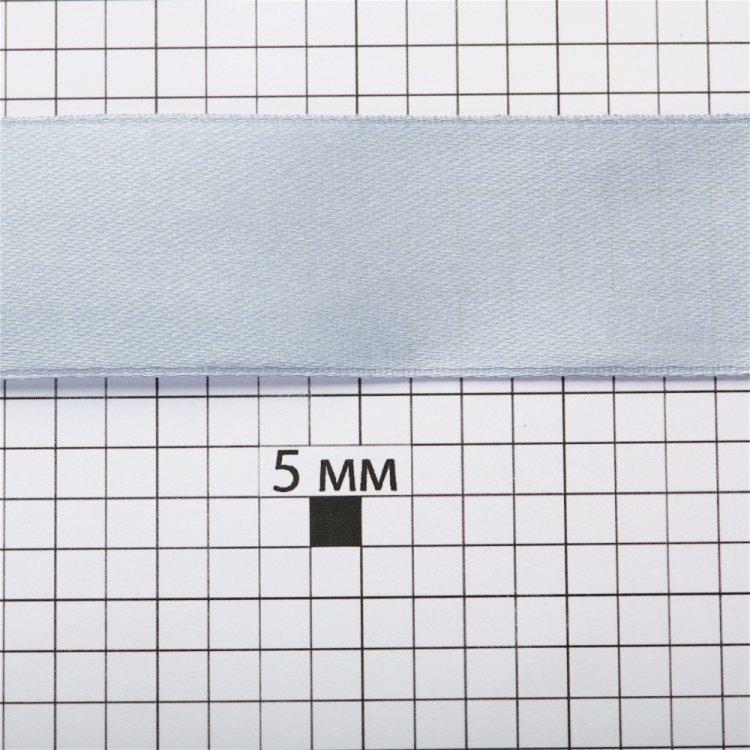 Лента атласная 25 мм серая