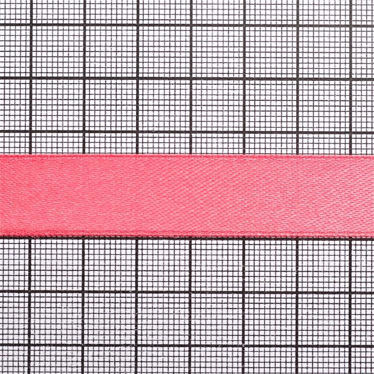 Лента атласная 14 мм малиновая