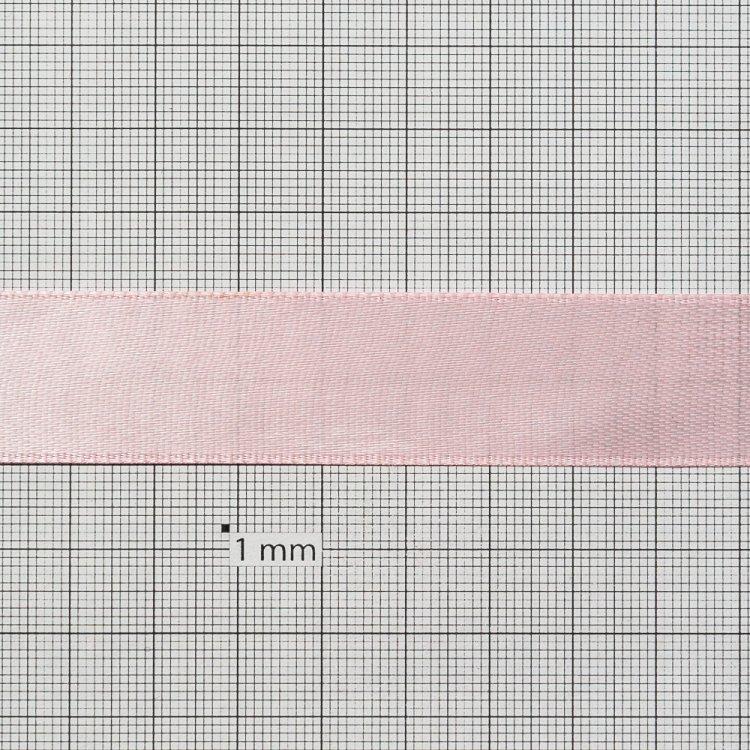 Лента атласная 20 мм розовая
