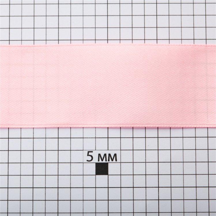 Лента атласная 30 мм розовая
