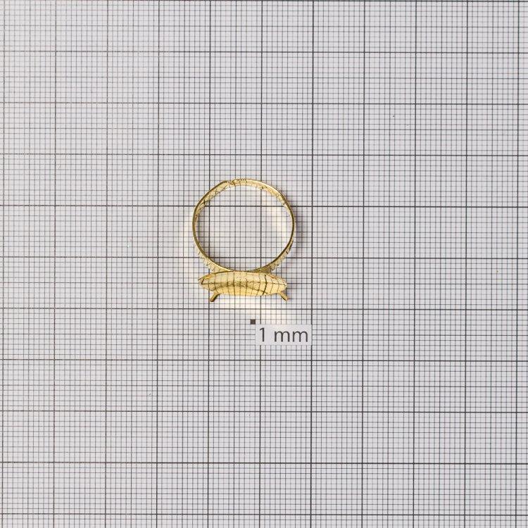 Основы для колец. Золото. Диаметр 18 мм.