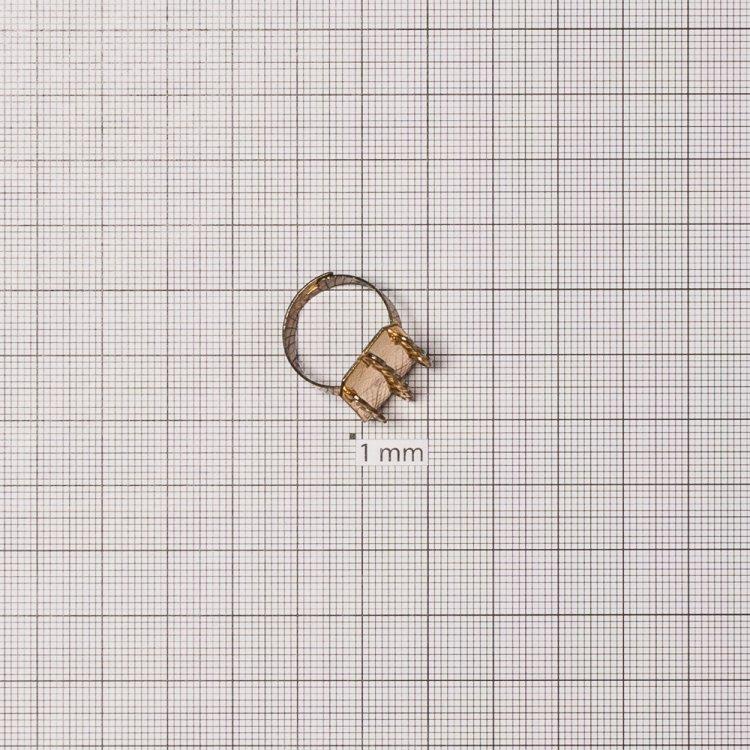 Основы для колец. Золотой. Диаметр 20 мм.