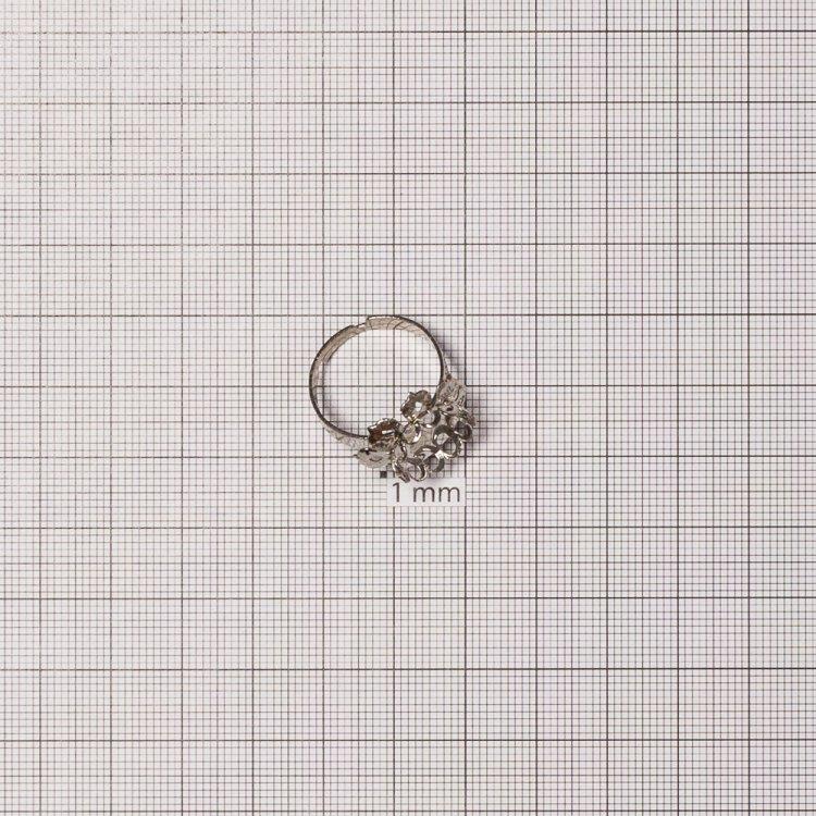 Основа для кольца, мельхиор