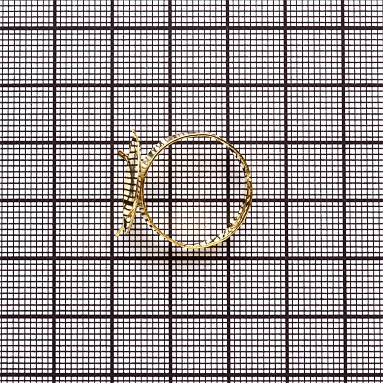 Основи для кілець. Золотий. Діаметр 18 мм.