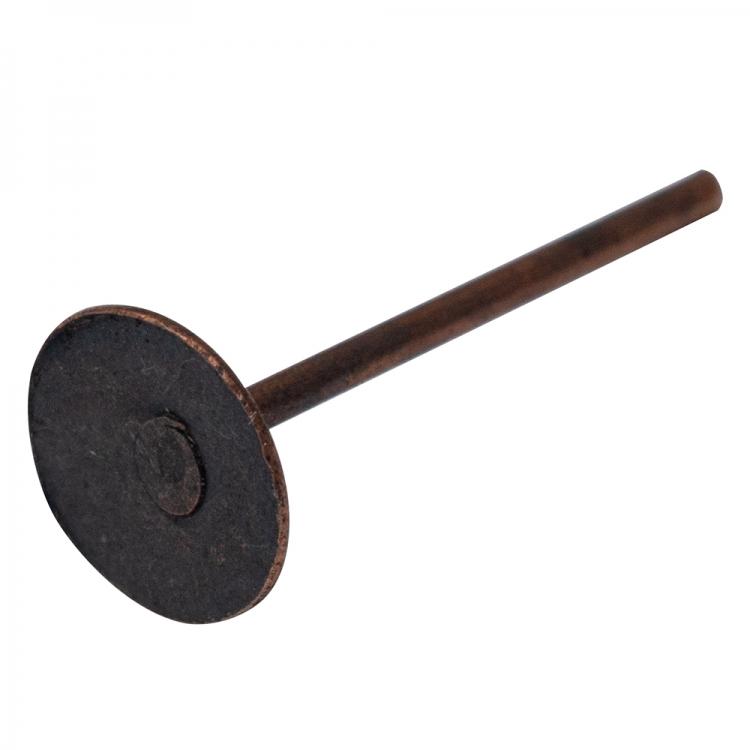 Основа для серег гвоздик 5 мм медная