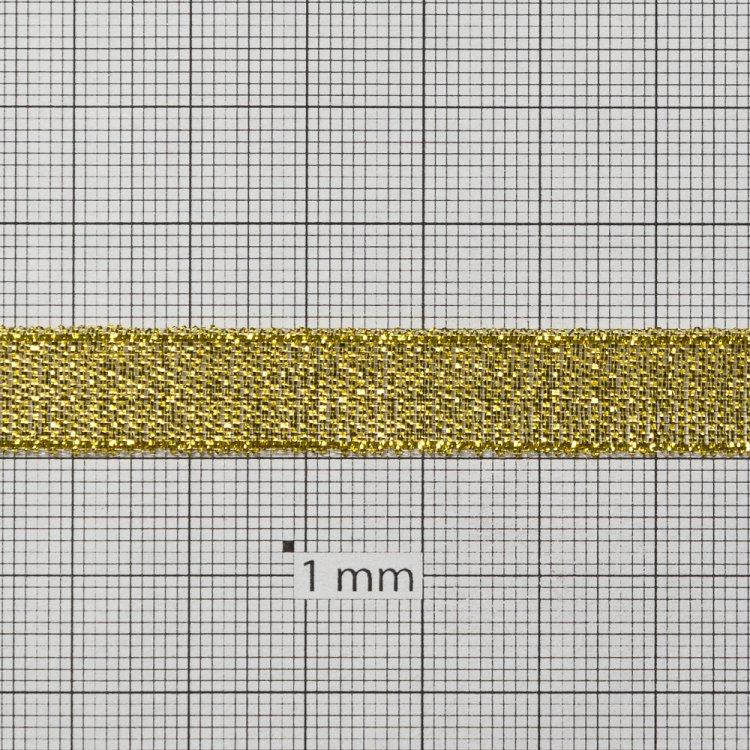 Лента люрексовая, золотистая, 11 мм