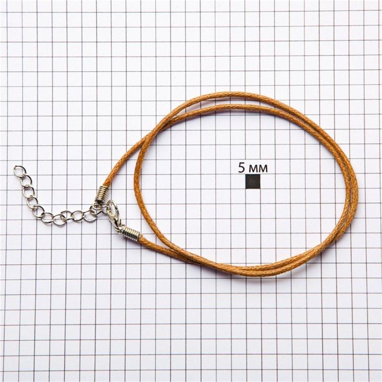 Готовая основа для украшений вощеный шнур