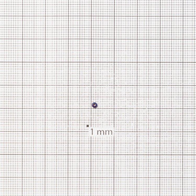 Бисер круглый, мелкий, радужный ирис. Калибр 12 (1,8 мм)
