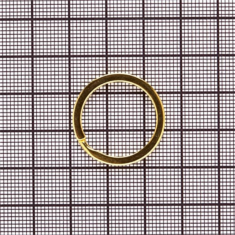 Кільце для брелка золоте