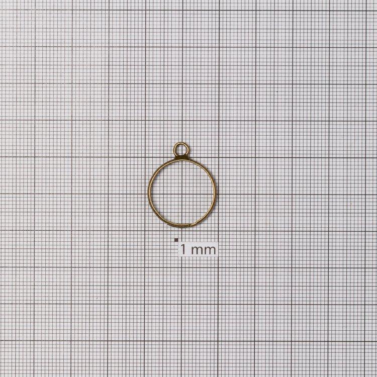 Основы для колец. Бронза. Диаметр 20 мм