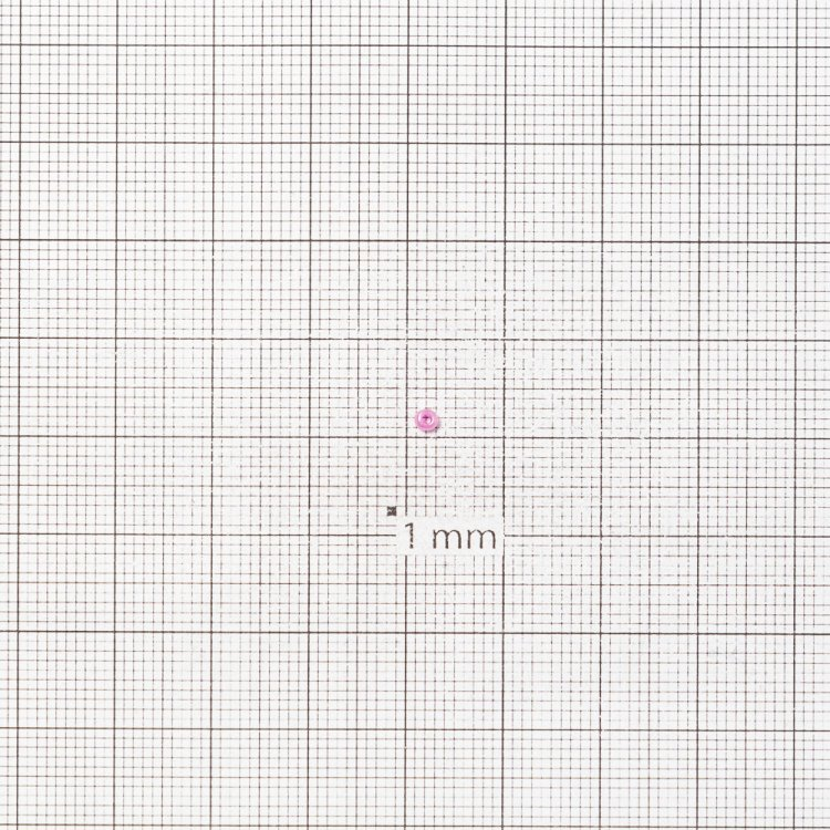 Бисер калиброванный. Розовый. Калибр 12 (1,8 мм)