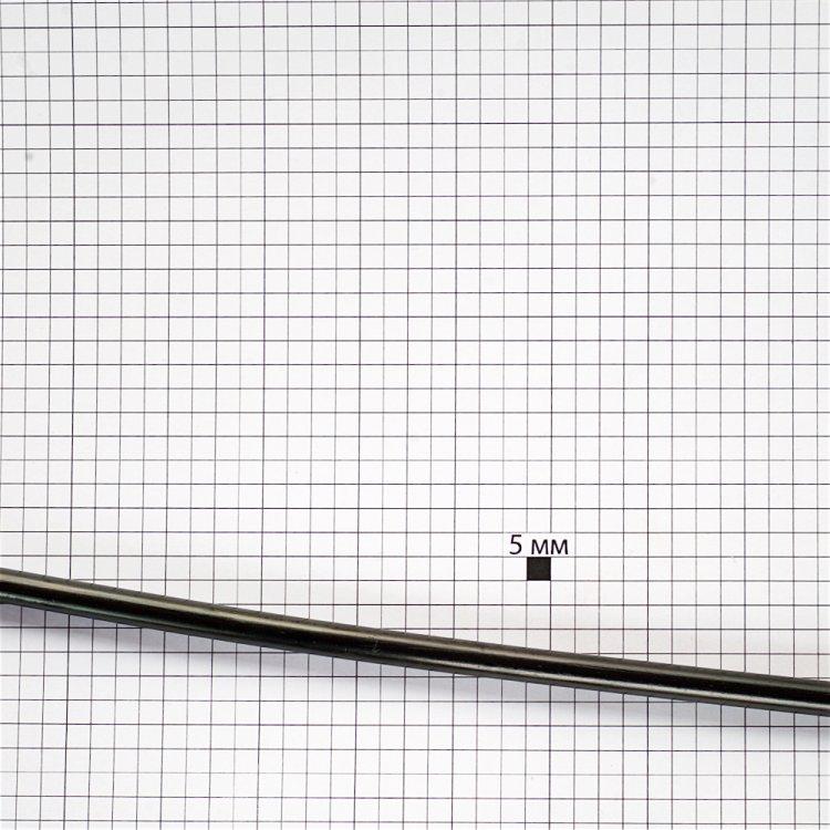 Клеевые стержни 5 шт, черные, 7мм, длина 185мм