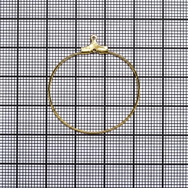 Основа для подвесок 30 мм золотая