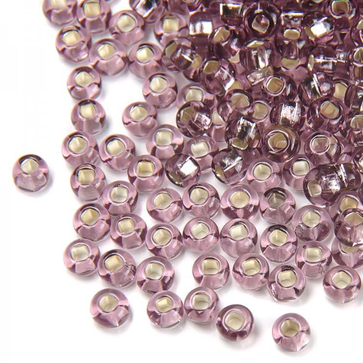 27010 чешский бисер Preciosa 5г  фиолетовый/сиреневый