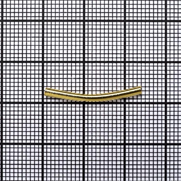 Трубочки цилиндр золото