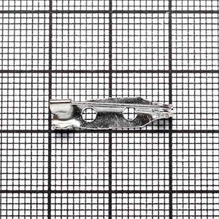 Основи для брошок. Срібло. 20 мм