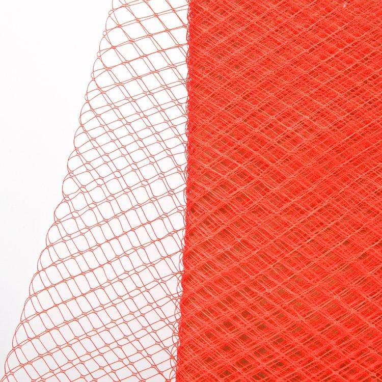 Мереживо-вуаль 25 см червоний