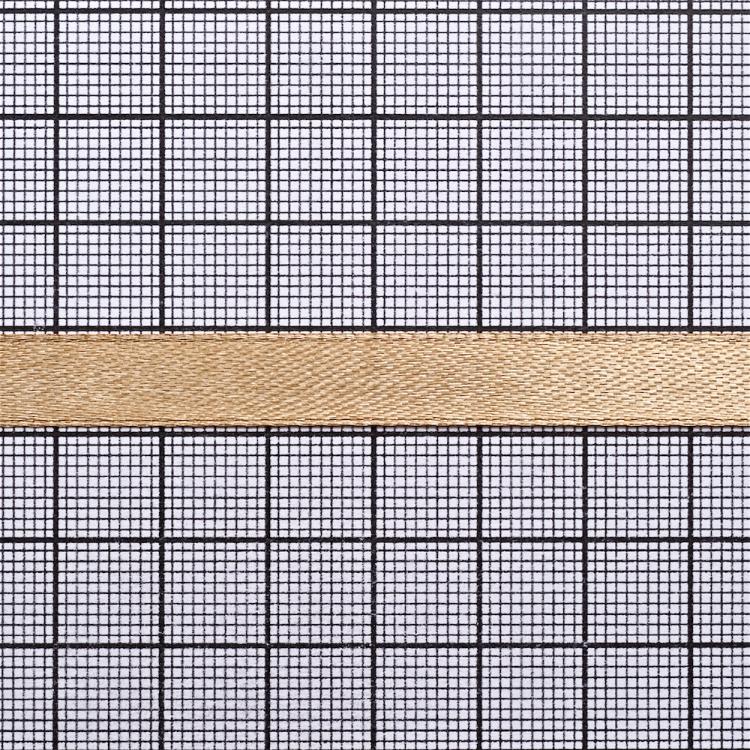 Стрічка атласна 10 мм бежева