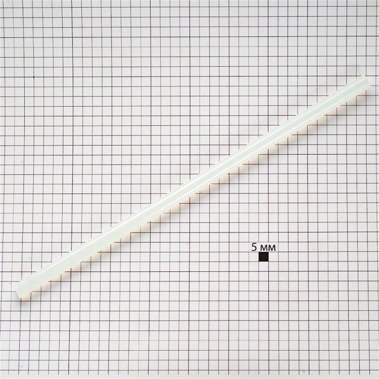 Клеевые стержни прозрачные 7 мм, длина 200 мм
