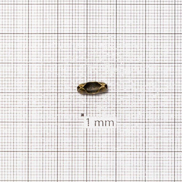 Застежки для цепочки. Бронза. Длина 10 мм, диаметр 4 мм.