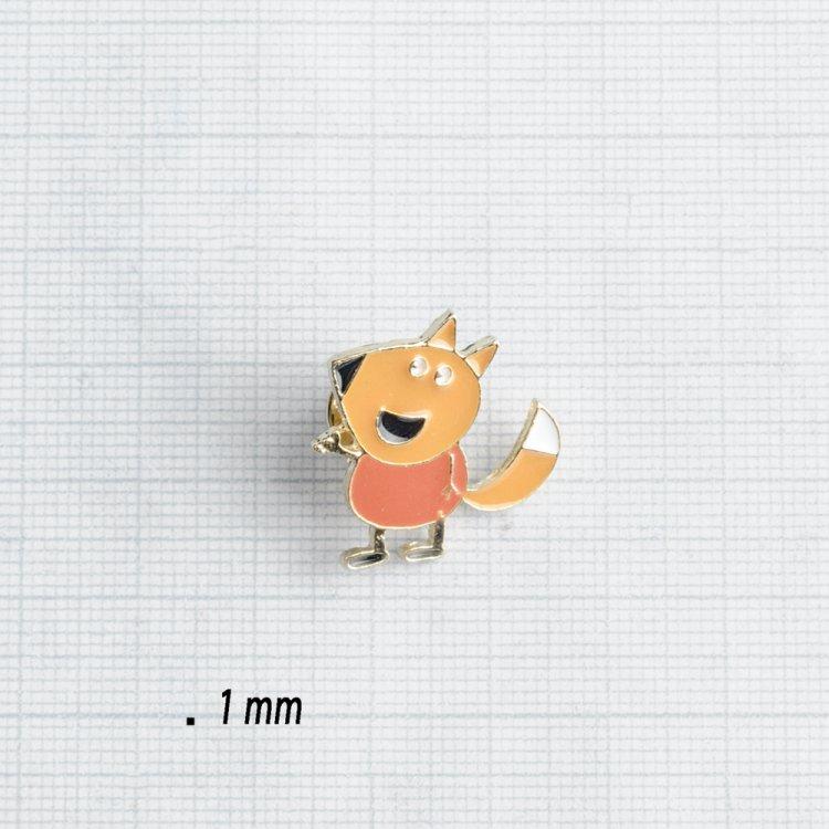 Значок на пине металлический Лис Фредди