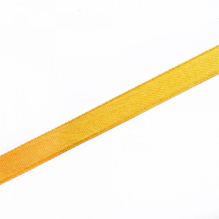 Лента атласная 10 мм оранжевая