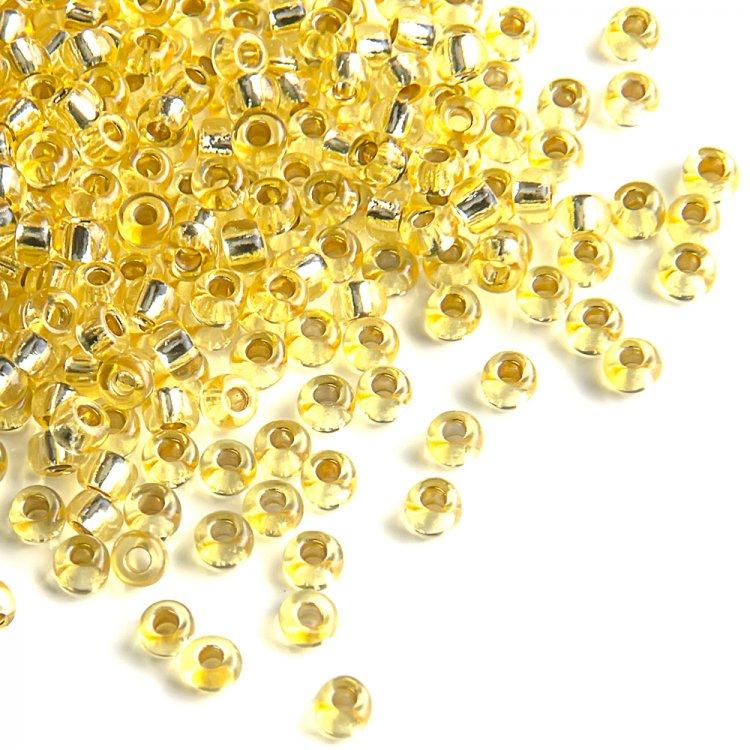 08286 чешский бисер Preciosa 5г  золотой