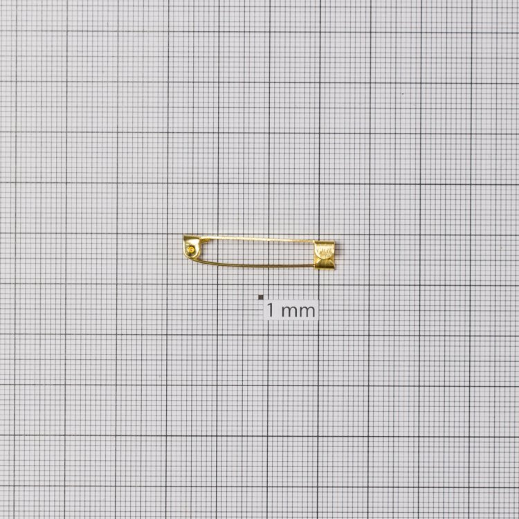 Основа для брошок. Золотий. 30 мм