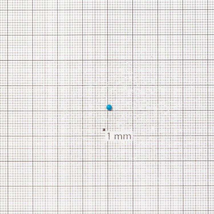 Бисер калиброванный. Голубой. Калибр 12 (1,8 мм)