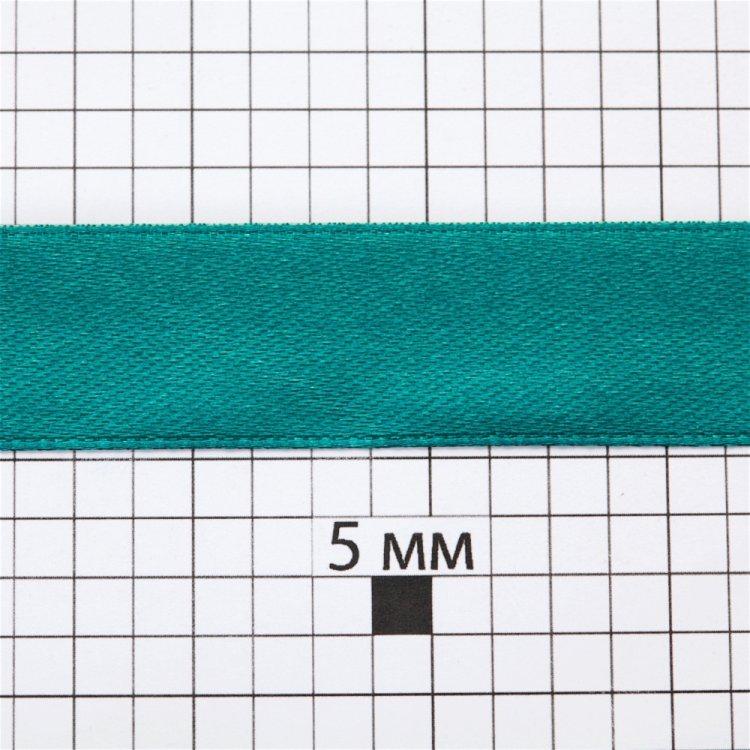 Лента атласная 20 мм зеленая