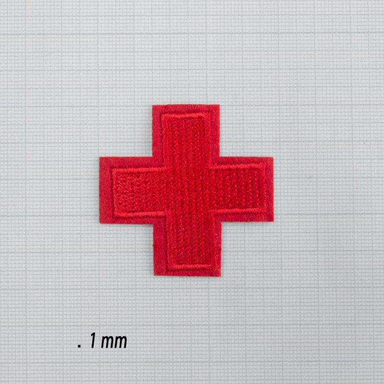 Тканинна нашивка Червоний хрест