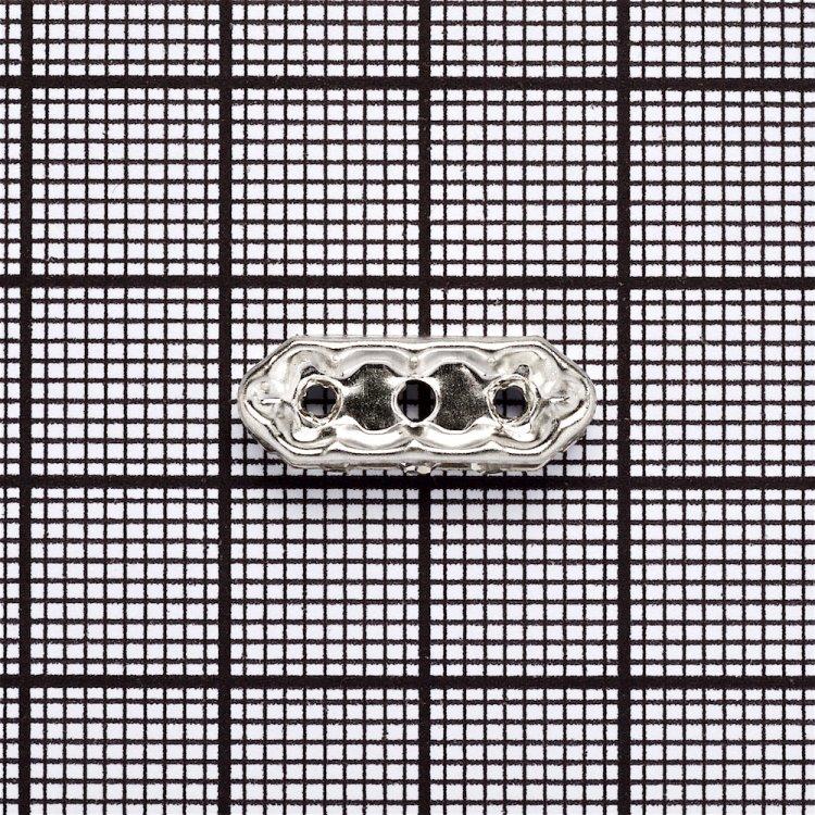 Планка, розділовий елемент зі стразами сріблястий