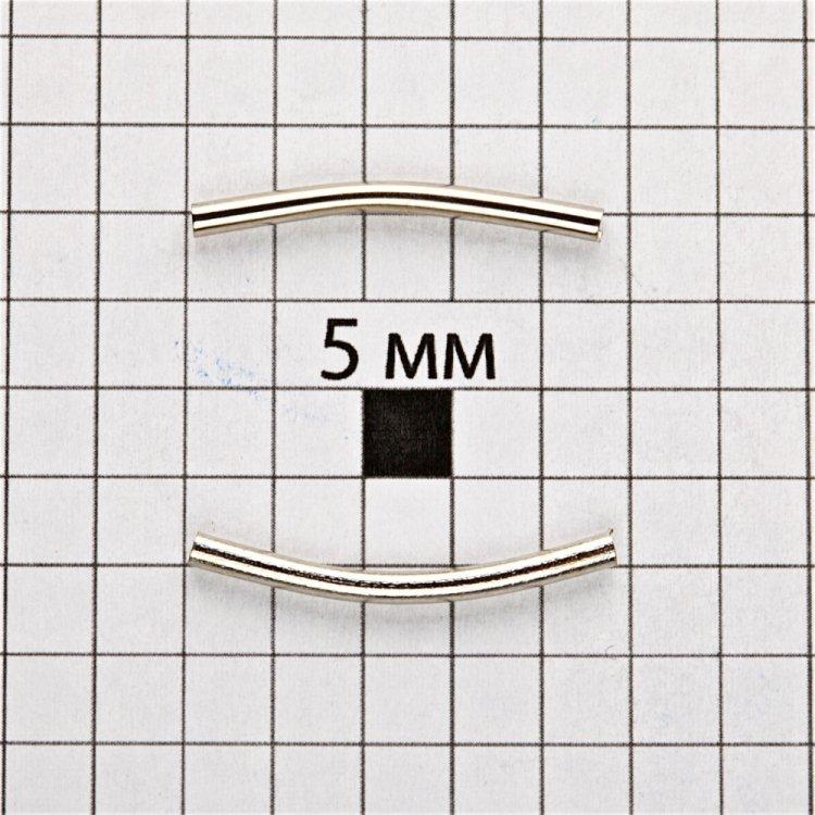 Трубочки 20 мм мельхіор