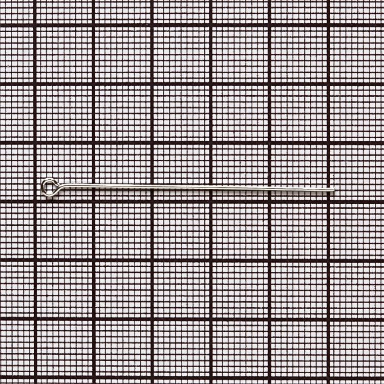 Бижутерные булавки серебристый 50 мм