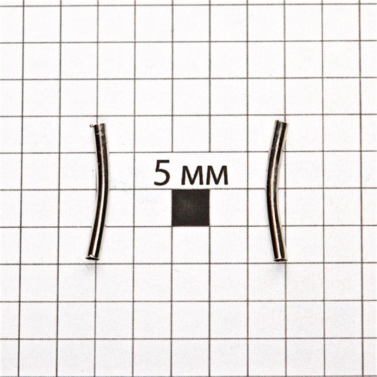 Трубочки мельхиор 20 мм