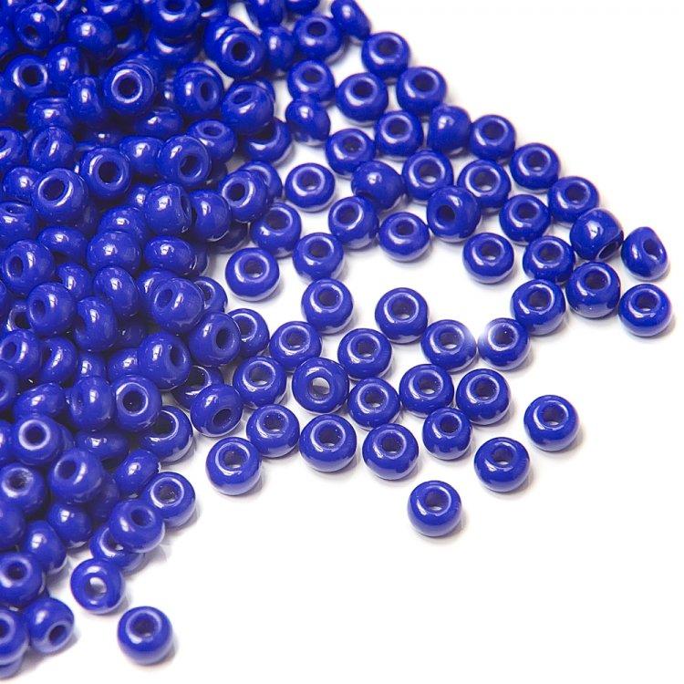 33060 чешский бисер Preciosa 5г синий