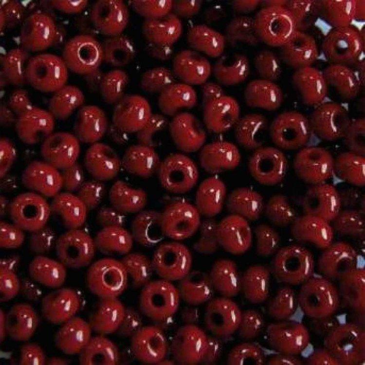93310 чешский бисер Preciosa 5г  красный