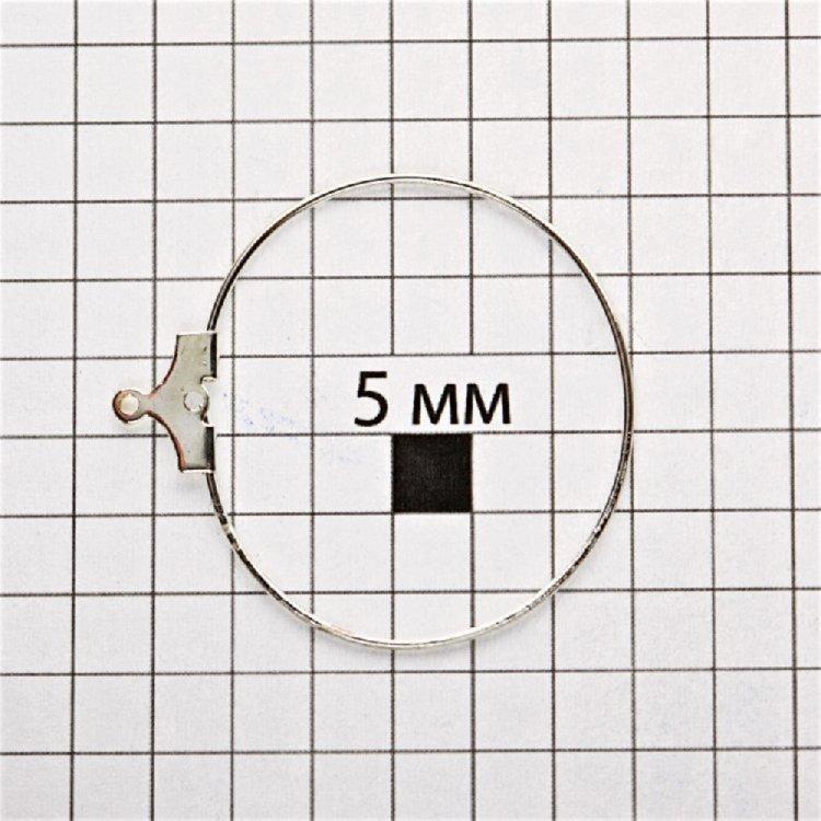 Основи для підвісок. Мельхіоровий. Діаметр 30 мм.